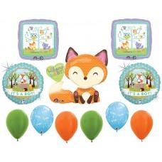 Woodland Fox  It's A Boy Balloon Set