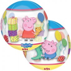 Peppa Pig 16 inch Clear Orbz Balloon