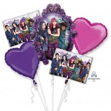 Descendants 2 Movie 5 Piece Balloon Bouquet Party Events