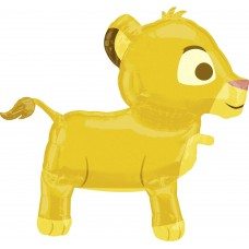 Simba Lion King Airwalker Buddies Large Party Birthday Balloon