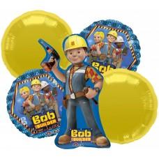 Bob the Builder Balloons 5 Piece Party Bouquet