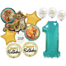 Simba the Lion King 1st Birthday Bouquet of Balloons Party Supplies Event Decorations