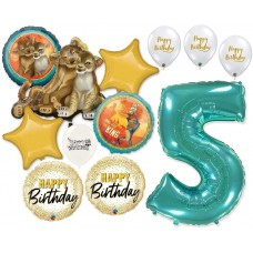 Simba the Lion King 5th Birthday Bouquet of Balloons Party Supplies Event Decorations