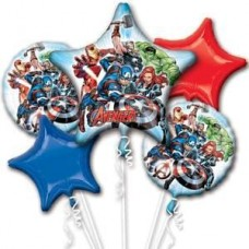 Avengers Marvel 5 Piece Party Balloon Set