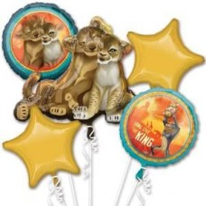 Lion King Simba Bouquet of Balloons Party Supplies Event Decorations