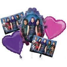 Descendants 3 Movie 5 Piece Balloon Bouquet Party Events