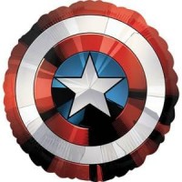 Captain America Avengers Shield Supershape XL Mylar Balloon Birthdays Kids Themed Parties Cosplay Special Events Superhero