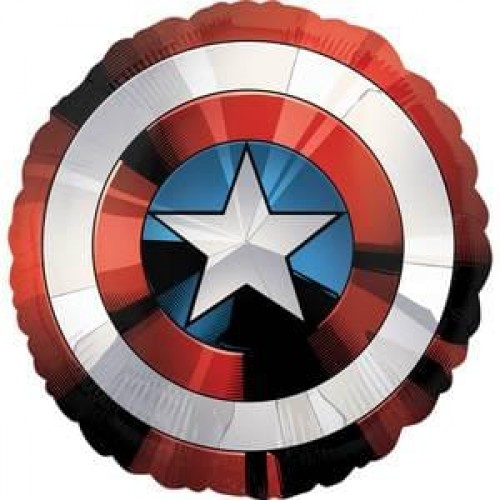 Captain America Avengers Shield Supershape XL Mylar Balloon Birthdays Kids Themed Parties Cosplay Special Events Superhero