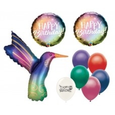 Hummingbird Birthday Party Decorations Bouquet of Balloons