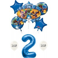 Skylanders Eruptor and Friends 2nd Second Birthday Balloon Bundle Set Decor Decorations Parties Kids