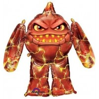 Skylanders Eruptor Airwalker Air Walker 45 Inch 45 Huge Jumbo Mylar Party Foil Balloon Decorations