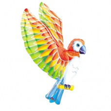 Tropical Flying Parrot Supershape Mylar Balloon