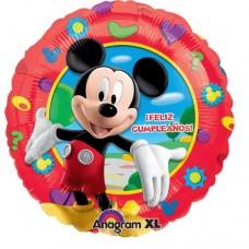 Disney's Mickey Mouse Feliz Cumpleanoz 18 inch Mylar Balloon