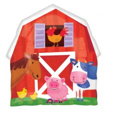 BarnYard & Friends SuperShape Mylar Balloon