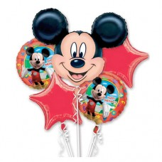Mickey Mouse Birthday Bouquet Of Balloons
