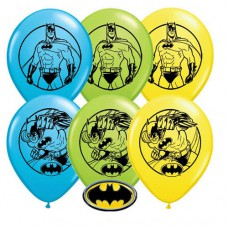 "Batman 11"" Latex Balloons, Bag of 25"