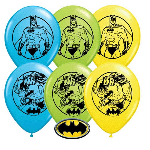 Characters and Super Hero 11 inch Latex Balloons