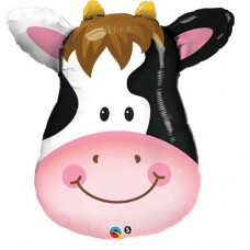 Clara the Cow Supershape Mylar Balloon