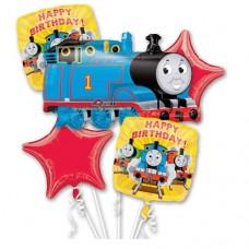 Thomas the Tank Engine 5 Piece Balloon Mylar Bouquet