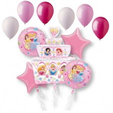 Disney's Princess Happy Birthday 11 Piece Mylar Ballon Set